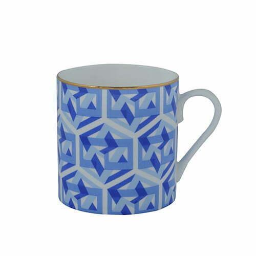 Nexus mug blue perenne design for Blue mug designs