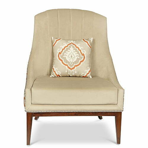 Victorian Chair Ikat Perenne Design